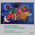 Kenneth Leighton: Music for Violin and Piano (MD 3358)